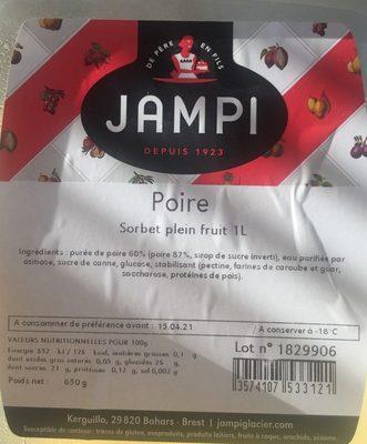Sorbet poire - Produit - fr