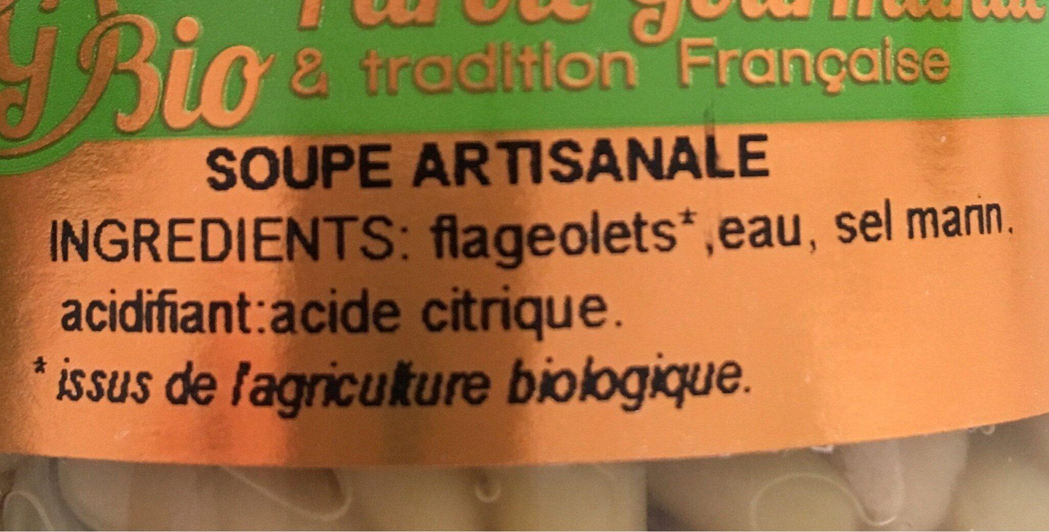 Flageolets bio - Ingrédients - fr