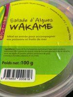 Salade d'algues WAKAME - Ingredients
