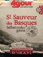 Agour Fromages, St Sauveur des Basques, le fromage de 220 g - Nutrition facts