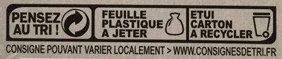 Agour Fromages, St Sauveur des Basques, le fromage de 220 g - Instruction de recyclage et/ou information d'emballage - fr