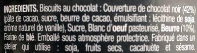 Cigarillos Artisanaux au Chocolat - Ingredients