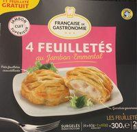 4 Feuilletés Jambon Emmental (+ 1) - Produit
