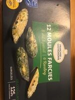 12 moules farcies - Product - fr