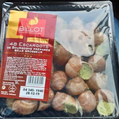 Escargots de Bourgogne préparés belle grosseur - Product
