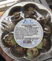 12 escargots préparés surgelés - Product - fr
