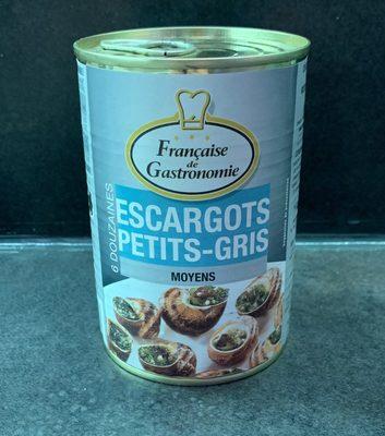 Escargots Petits-Gris - Produit