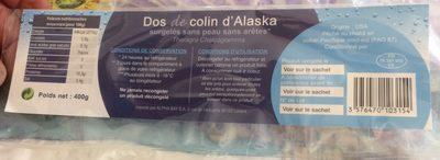 Dos de colin d Alaska - Product - fr