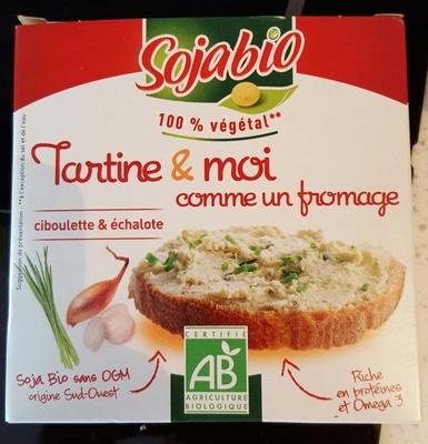 Tartine & moi comme un fromage Ciboulette & échalote Tofu - Product - fr