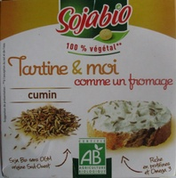 Tartine & moi comme un fromage Cumin Bio (12,9 % MG) - Product - fr