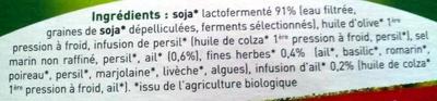 Tartine & moi ail et fines herbes - Ingrediënten - fr