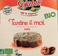 Sojabio tartine et moi noix - Product - fr