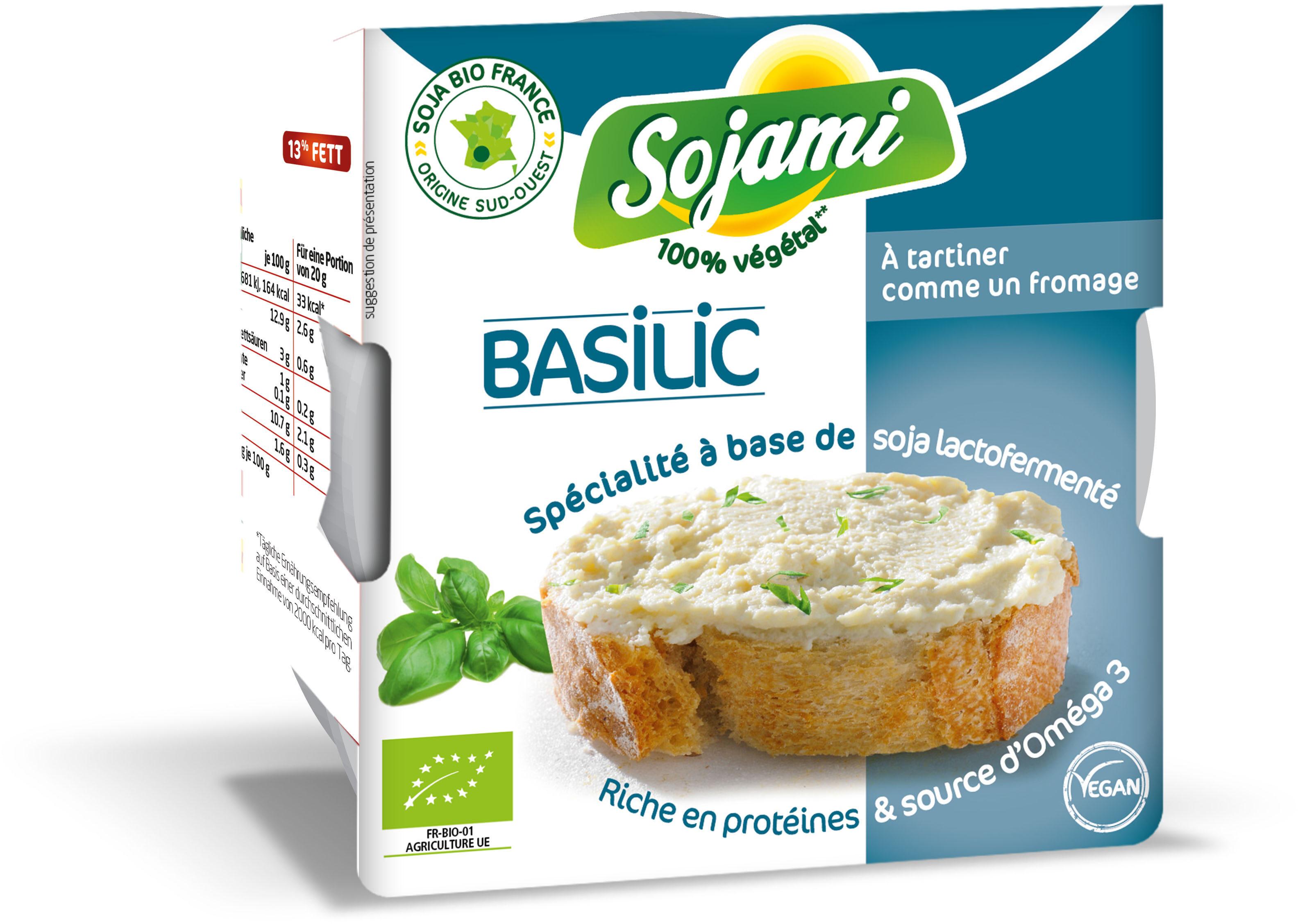 Sojami À Tartiner Basilic - Product - fr