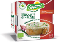Sojami à tartiner Ciboulette-Echalote - Product - fr