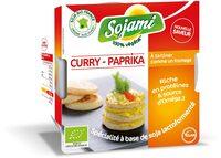 Sojami à tartiner Curry Paprika - Product - fr
