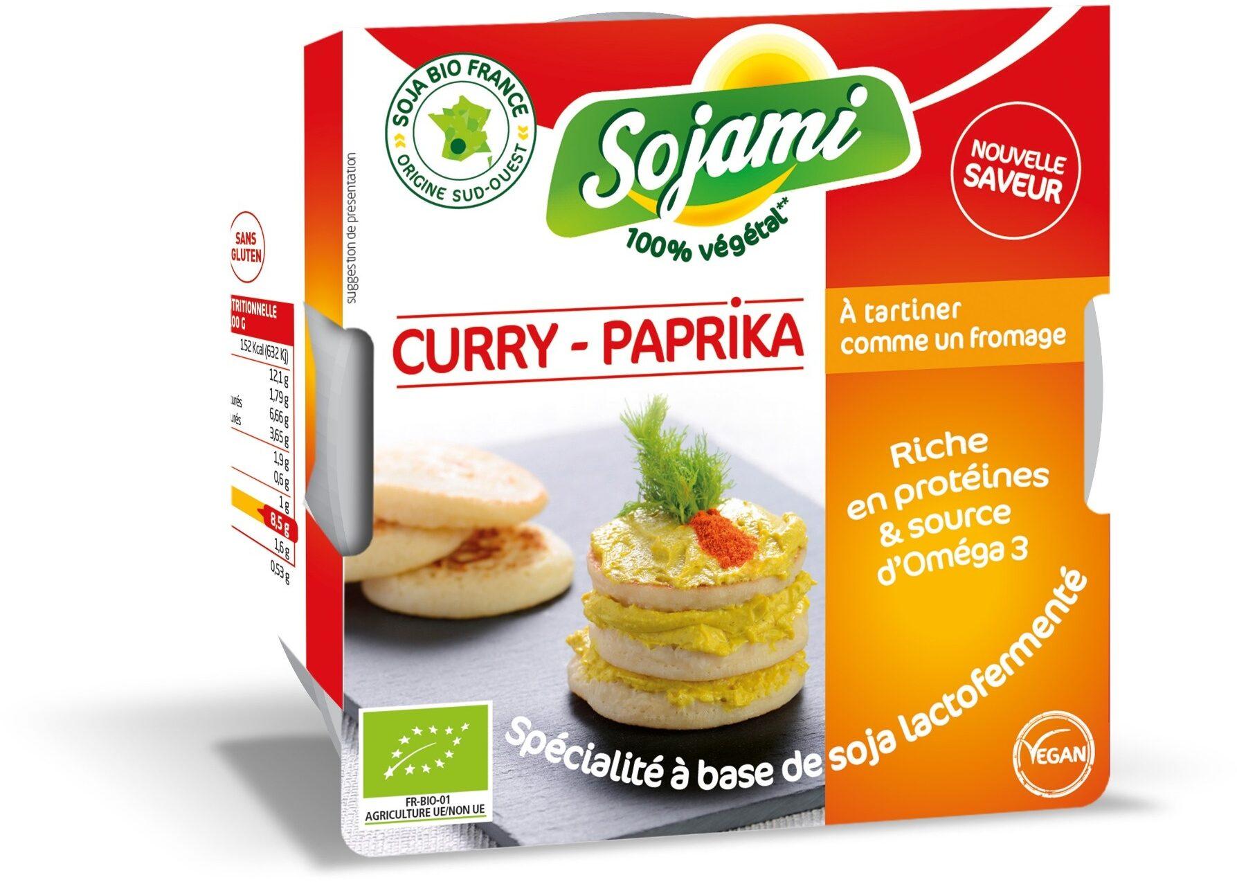 Sojami à tartiner Curry Paprika - Product