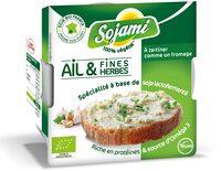 Sojami à tartiner Ail & Fines Herbes - Product - fr