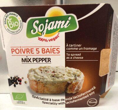 Poivre 5 baies - Produit - fr