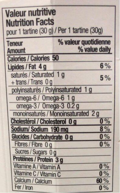 Poivre 5 baies - Informations nutritionnelles - fr