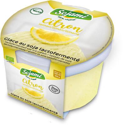 GLACE SOJA LACTOFERMENTE CITRON - Product