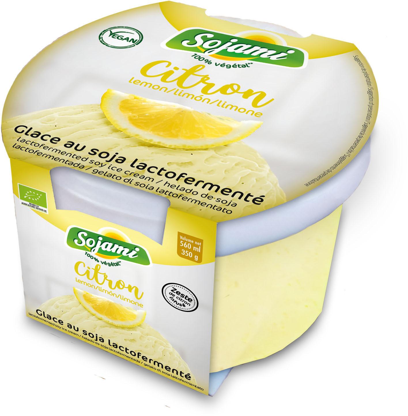 GLACE SOJA LACTOFERMENTE CITRON - Produkt - fr