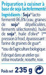 Sojami Cuisine - Nature - Ingrediënten - fr