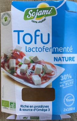 Tofu lactofermenté nature - Product