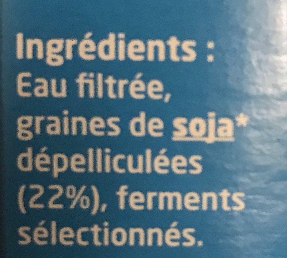 Tofu Lactofermenté Nature - Ingrediënten - fr