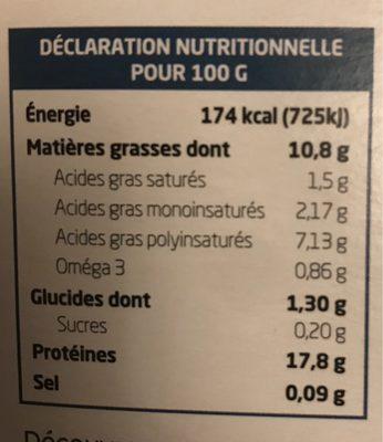 Tofu lactofermenté nature - Nutrition facts