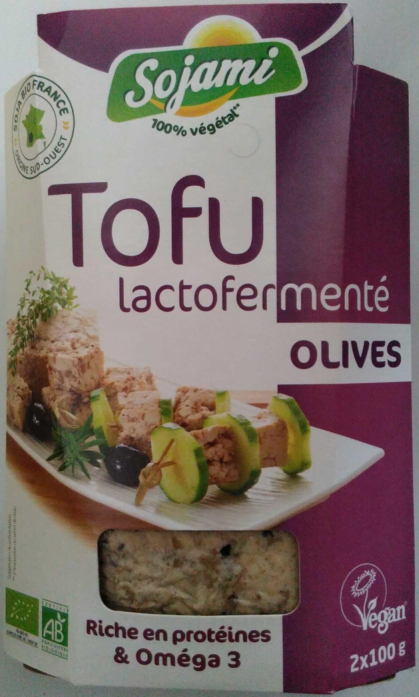 Tofu lactofermenté olives - Product - fr