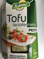 Tofu lactofermenté Pesto - Prodotto - fr