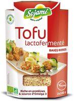 Tofu Lactofermenté Baies Roses - Produit - fr