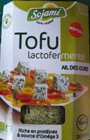 Tofu Lactofermenté Ail Des Ours - Produkt - fr