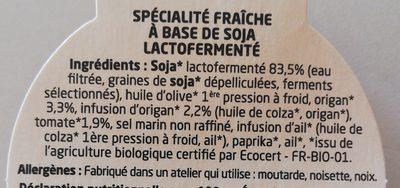 From'james - Ingrediënten - fr