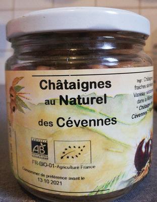 Châtaignes au naturel des Cévennes - Product