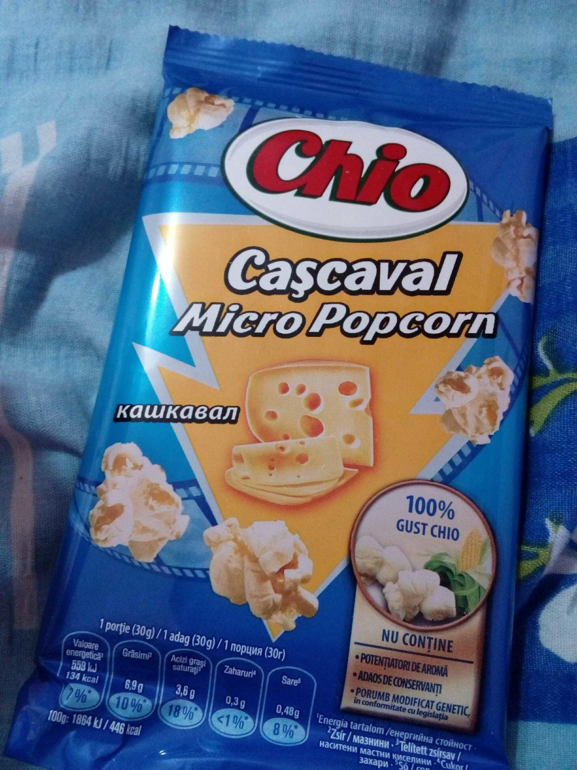 Chio popcorn cascaval - Product - ro