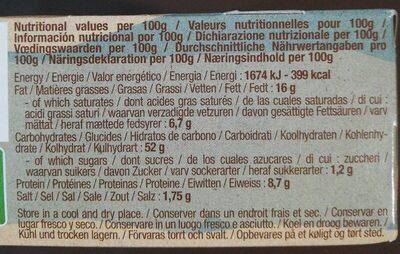 Pop Corn - Valori nutrizionali