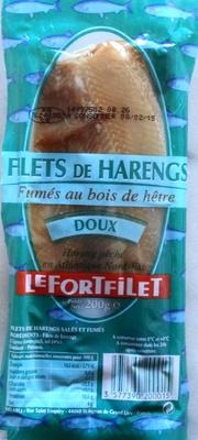 Filets de harengs, doux, fumés au bois de hêtre - Produit - fr