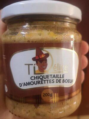 Chiquetaille d'amourettes de bœuf - Produit - fr