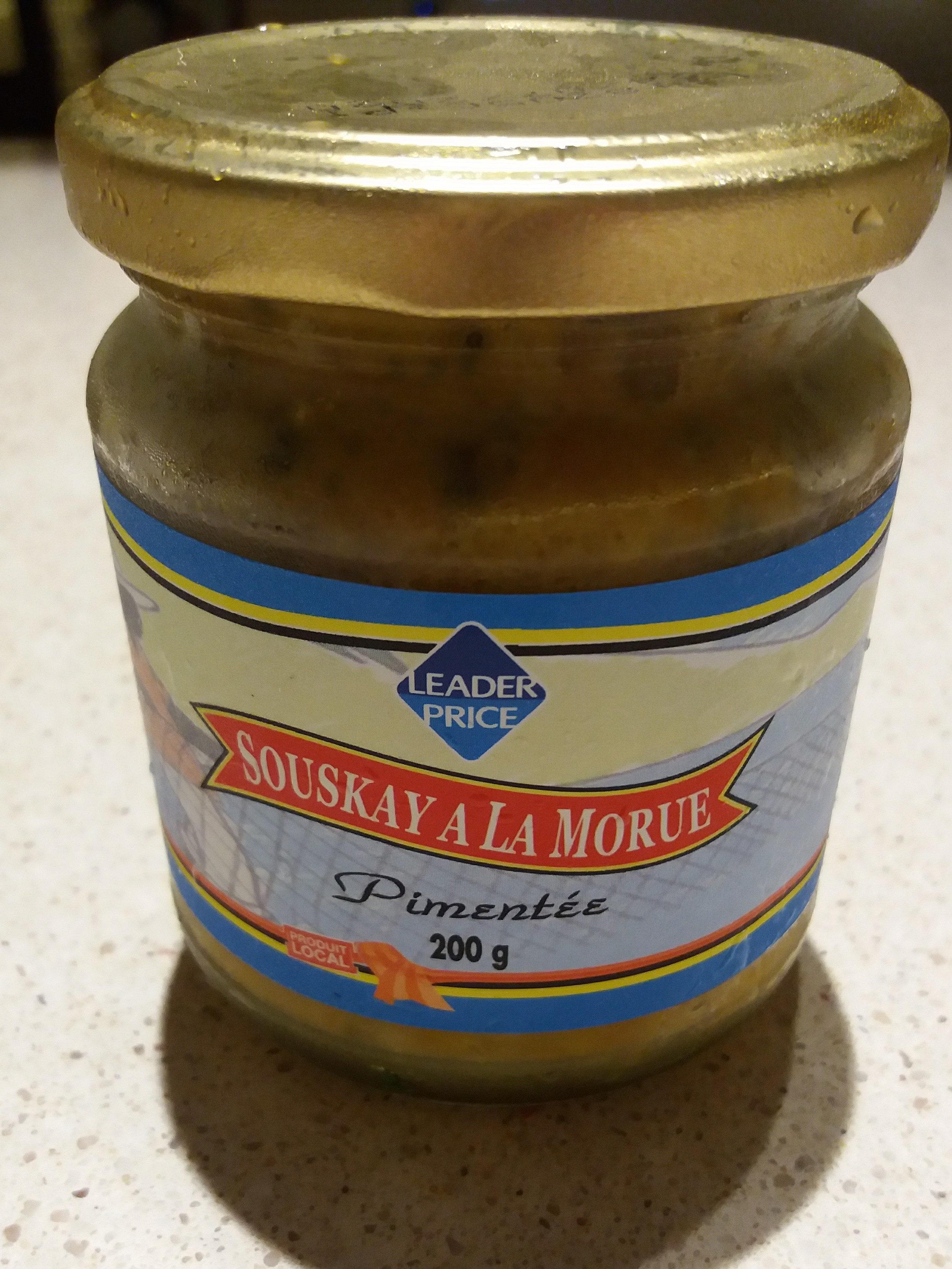 Souskay De Morue Pimentée Délices Locales - Produit - fr