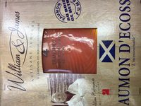 Saumon fume William & James Ecosse 4 tranches - Ingredients - fr