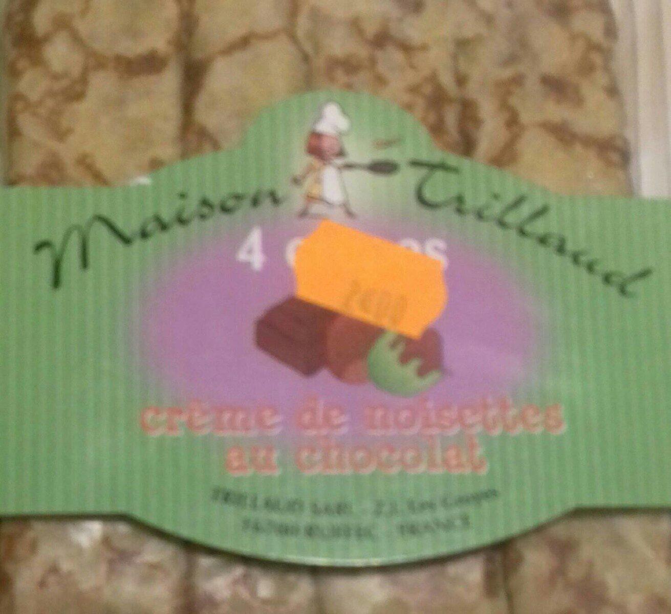 Crêpes avec crème de noisettes - Prodotto - fr