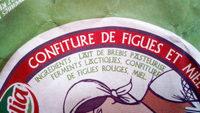 Yaourt de Brebis brassé, confiture de figues et miel - Ingrédients - fr