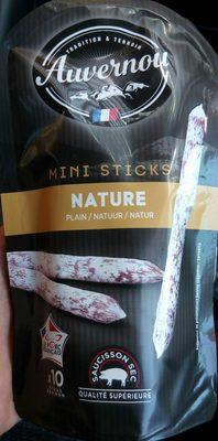 Mini Sticks Nature - Saucisson Sec Pur Porc - Produit