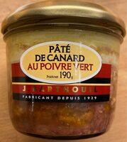 Pâté de canard au poivre vert - Produit - fr