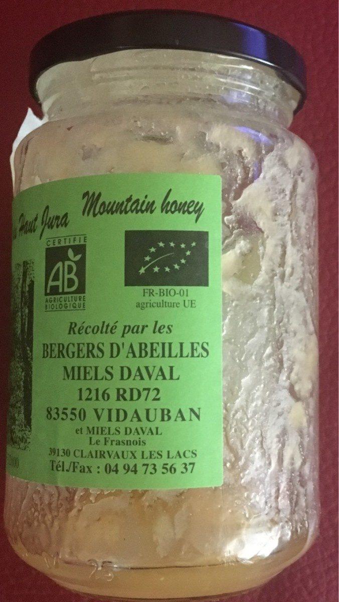 Miel fleurs montagne Haut Jura - Produit - fr
