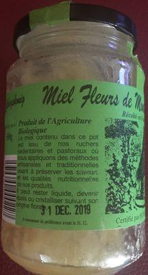 Miel fleurs montagne Haut Jura - Ingrédients - fr