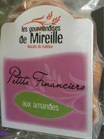 Petits Financiers Aux Amandes - Produit - fr