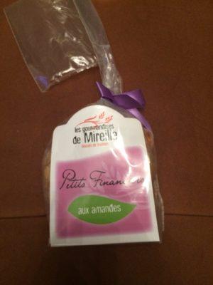 Petits Financiers Aux Amandes - Informations nutritionnelles - fr