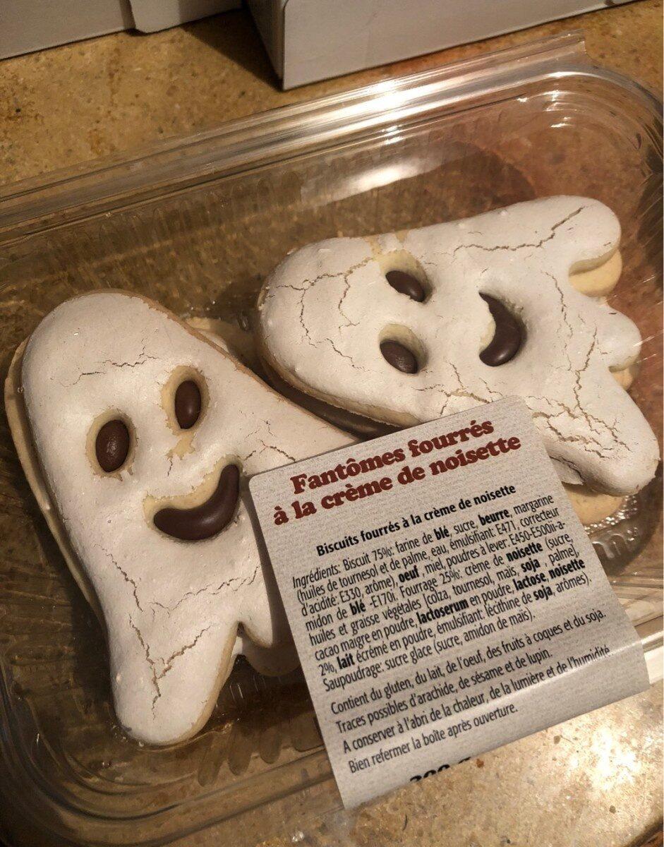 Fantomes fourrés à la crème de noisette - Produit - fr
